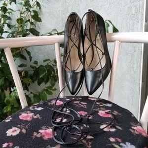 Brash lace up heels size 10 ♡